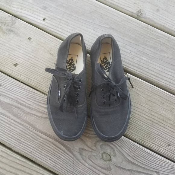 12fb0a4ca7 Vans Shoes - All Black Vans. Women s size 5  Men s ...